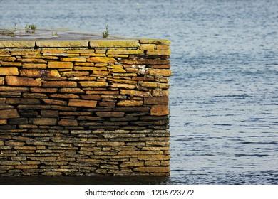 Port Stromness on Orkneys islands