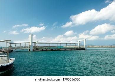 Port of Taketomi Island, Okinawa Prefecture