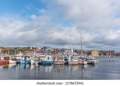 Port of Torshavn / Torshavn / Faroe Islands / 12 sept 2018.