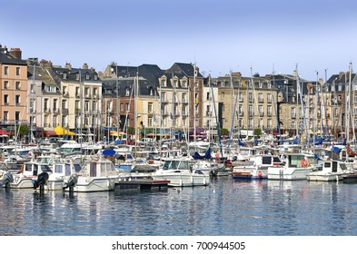 Port and town of Dieppe, a commune in the Seine-Maritime department in the Haute-Normandie region in northwestern France