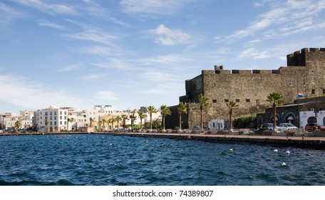 The port of the town of Pantelleria on the island of the same name