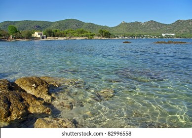 Port Vell bay near Cala Millor in Majorca (Balearic Islands - Spain)