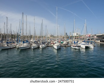Port Vell is a waterfront harbor in Barcelona, Catalonia, Spain, and part of the Port of Barcelona.