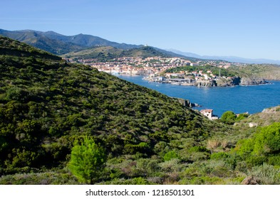 Port Vendres at the Cote Vermeille in France