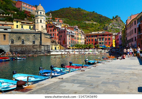 Port of Vernazza, Cinque Terre - Liguria Italy