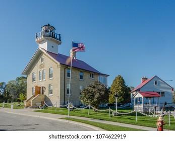Port Washington Wisconsin Light Station (1860)