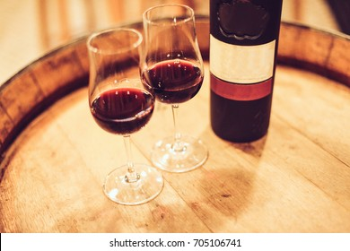 Vinho do Porto em barril