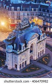 Porta de Paris in Lille. Lille, Nord-Pas-de-Calais, France