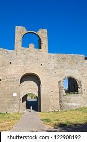 Porta di Valle. Viterbo. Lazio. Italy.