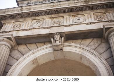 Porta Garibaldi, Milan, Italy.