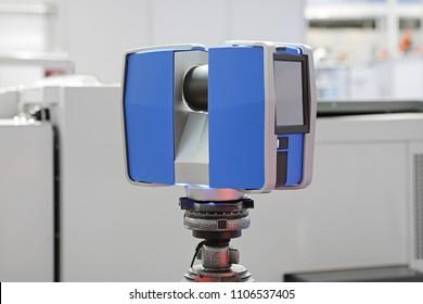 Portable 3d Laser Scanner at Tripod