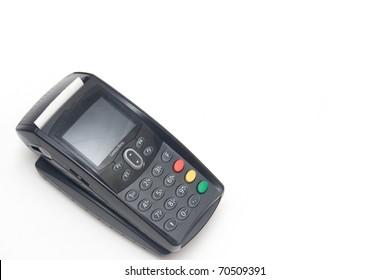 Portable Credit Card Terminal on Base