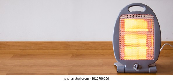 Portable Electric Heater, Halogen Light Heater
