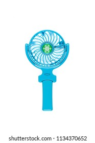 portable fan with hand holding handle
