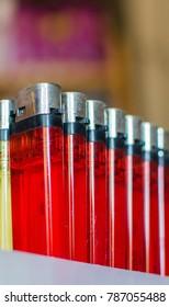 Portable gas lighter