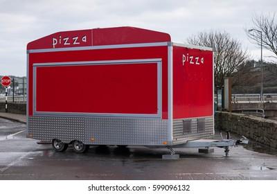 Portable pizza shop