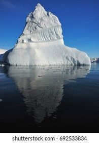 Portal Point Antarctica Giant Iceberg Reflection