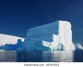 Portal Point Giant Iceberg Antarctica