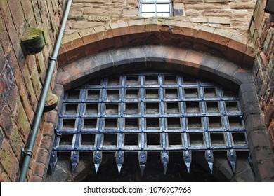 Portcullis - Carlisle castle