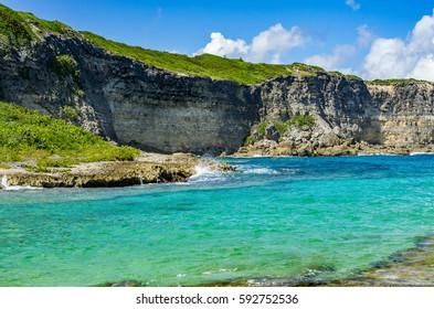 Porte d'enfer, Guadeloupe, Caribbean, French Antilles