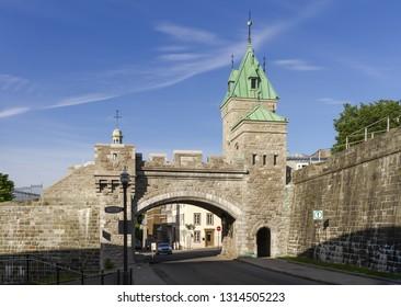 Porte Kent - Gate - Old Quebec City - Canada