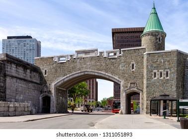 Porte Saint John - Gate - Old Quebec City - Canada