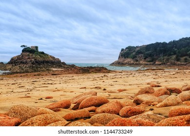 Portelet Bay is a harbour/rocks/Sandy beach located near Portelet in Jersey.