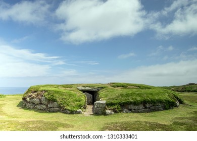 Porth Hellic Burial Chamber, St Mary's, Isles of Scilly, UK