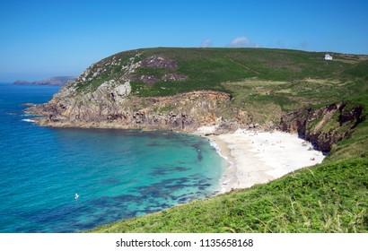 Portheras Cove, near Pendeen, Cornwall UK