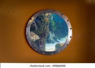 porthole under the sea