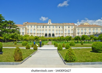 Portici, Italy, 05/04/2017. University of Agriculture, located in an ancient royal palace.