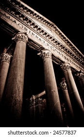 Portico of the Pantheon in Rome
