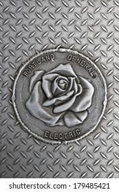 Portland general electric sign