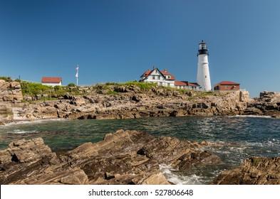 Portland Head Light in Maine.