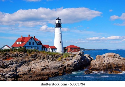 Portland Head Light. Portland Maine