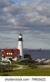 Portland Head Lighthouse built in 1791 - Cape Elizabeth, Maine, United States