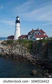 Portland Head Lighthouse, Casco Bay, Portland Maine