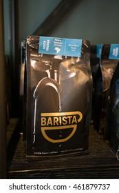 PORTLAND, OR - JULY 27, 2016: Barista coffee shop on NW 23rd in Portland Oregon.