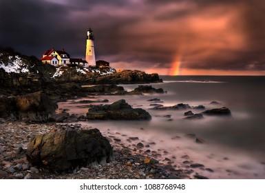 Portland Maine lighthouse