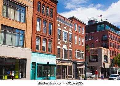 Portland, Maine, USA - July  5, 2016 Portland is the largest city in the U.S. state of Oregon and the seat of Multnomah County.