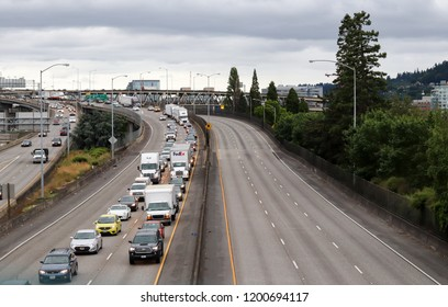 Portland Interstate Images, Stock Photos & Vectors
