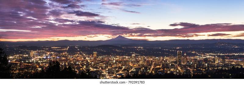 Portland, Oregon New Years 2018