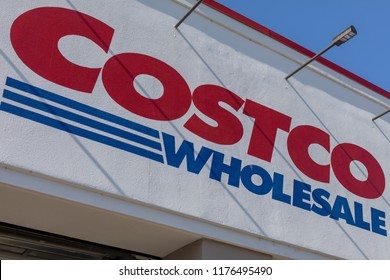 Portland, Oregon - Sep 8, 2018 : Costco Wholesale storefront. Costco Wholesale Corporation is largest membership-only warehouse club in US.