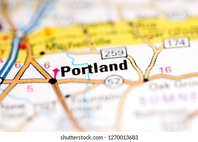 Portland Tennessee Map.Portland Map Stock Photos Images Photography Shutterstock