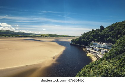 Portmeirion Colorful Coastal Town in North Wales, UK