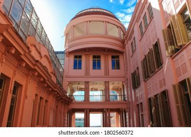 Porto Alegre / Rio Grande do Sul / Brazil - 12/04/2017 -  Casa de Cultura Mario Quintana (CCMQ - Mario Quintana House of Culture), originally Hotel Majestic