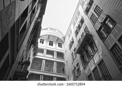 Porto Alegre,Rio Grande do Sul,Brazil : 12 /12/2019: The Casa de Cultura Mario Quintana (CCMQ - Mario Quintana House of Culture), originally Hotel Majestic, is a historic Brazilian building