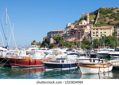 Porto Azzurro, Isola d'Elba, Italy