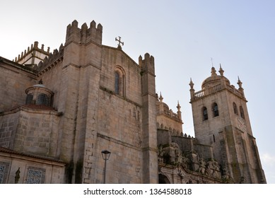 Porto Cathedral in Porto, Portugal, Europe