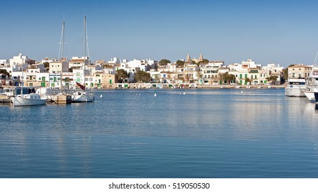 Porto Colom Felanitx port in Majorca, Spain